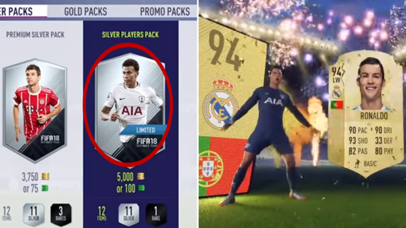 FIFA Ultimate Team Player Finds Cristiano Ronaldo In A 5k Silver Pack