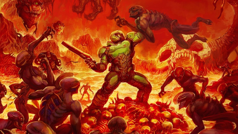 ​There's A Petition For Doomguy To Become A 'Mortal Kombat' 11 Playable Character