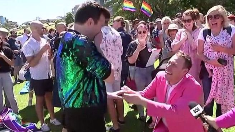 Man Proposes To Boyfriend After Australia Votes In Favour Of Same-Sex Marriage