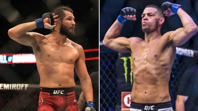 Jorge Masvidal Wants Nate Diaz Clash And A Big Payday From UFC Boss Dana White