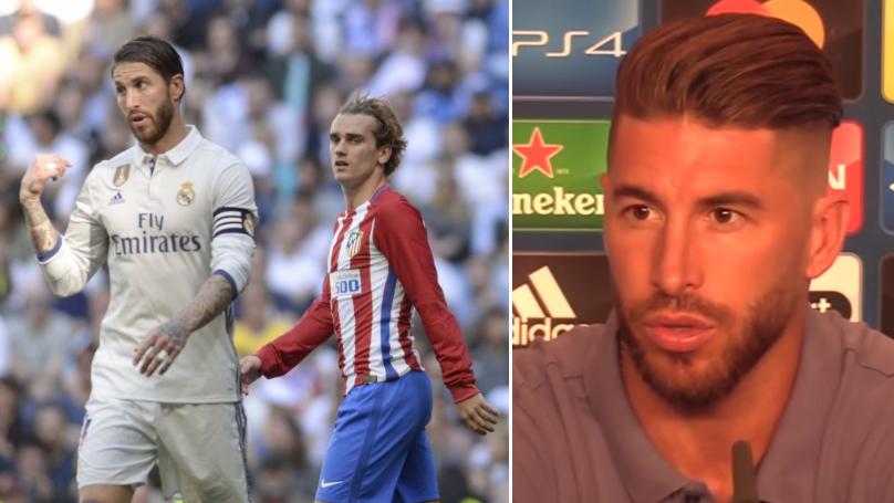 Sergio Ramos Brutally Slams Antoine Griezmann Over Cristiano Ronaldo And Lionel Messi Claim