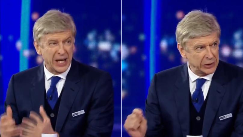 Arsene Wenger Labelled 'World's Best Pundit' For His Analysis Of Man Utd vs PSG