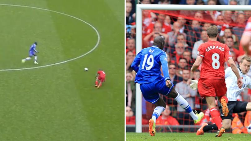 Demba Ba Reveals He Has No Sympathy For Steven Gerrard's Slip