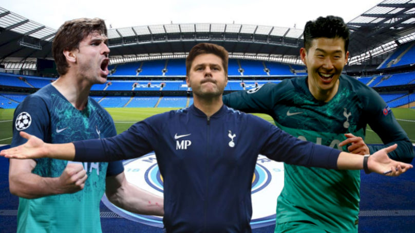 Tottenham Knock Manchester City Out Of The Champions League