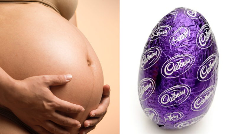 Easter Egg Chart Reveals Women's Cervix Dilation During Childbirth