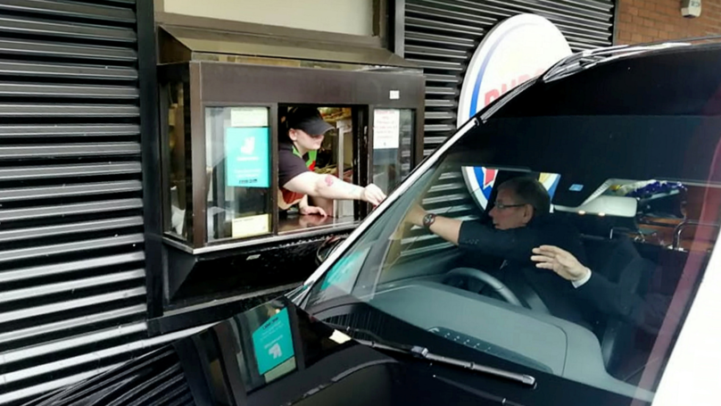 Hearse Stops At Burger King Drive-Thru To Fulfil Man's Dying Wish