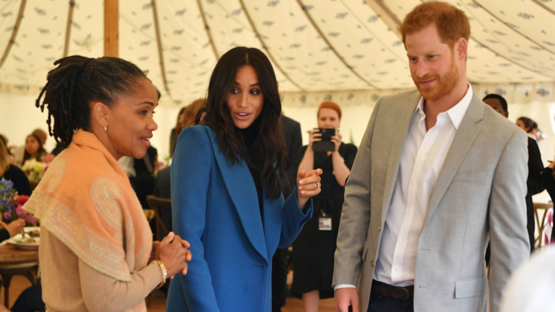 Prince Harry Caught Red-Handed Stealing Samosas At Meghan Markle's Cookbook Event