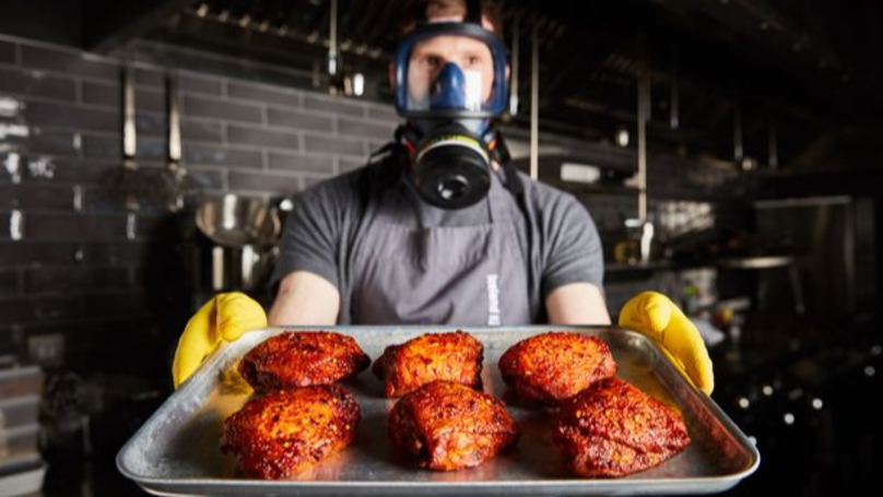 ​Iceland Launches Chicken Thighs So Hot They Come A With Health Warning