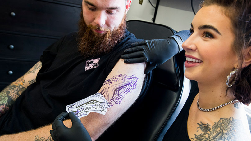 Stop Everything: Strongbow Are Opening Their Own Dark Fruit Tattoo Studio