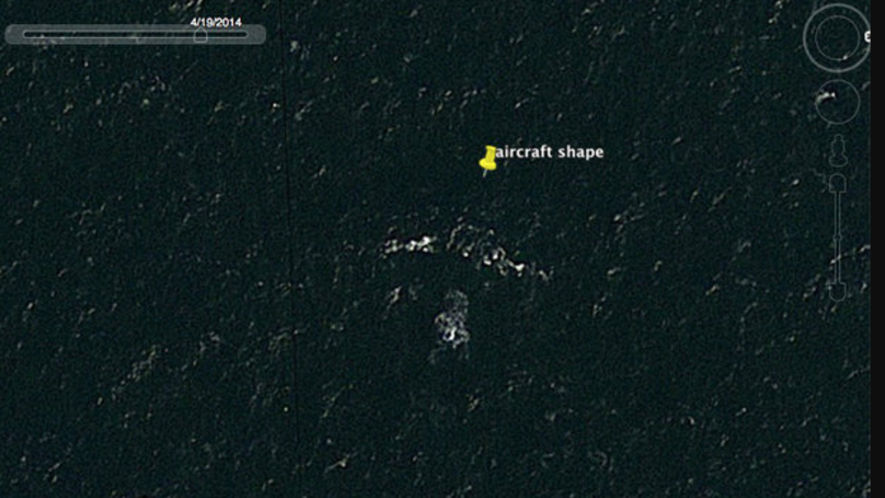 Man Thinks He's Found Missing Flight MH370 Which On Google Earth