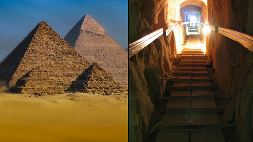 There's A Massive Hole In The Middle Of The Great Pyramid