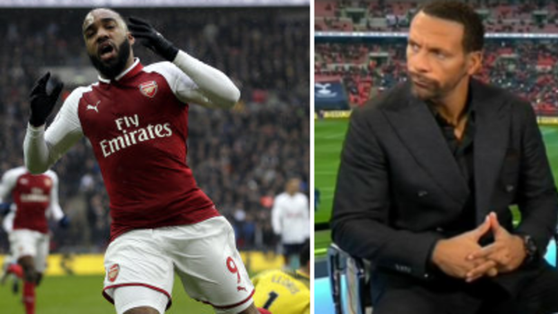 Rio Ferdinand Hits The Nail On The Head About Alexandre Lacazette