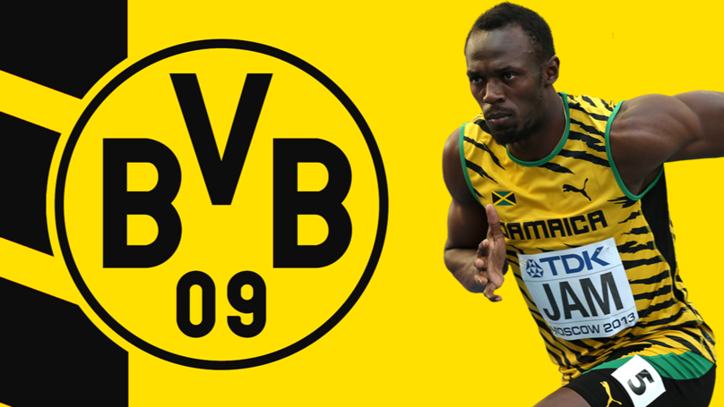 Usain Bolt To Have Borussia Dortmund Trial Today
