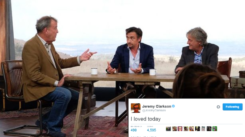 The First Official Look Inside The Studio For 'The Grand Tour'