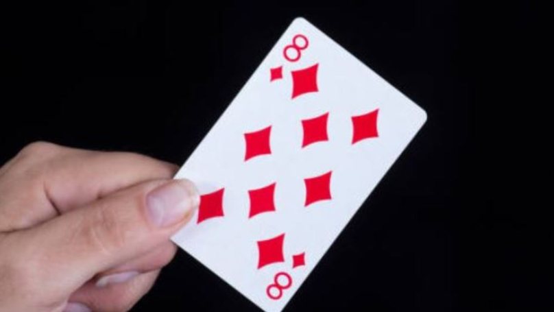 People Are Utterly Baffled By The Hidden Number In The 8 Of Diamonds