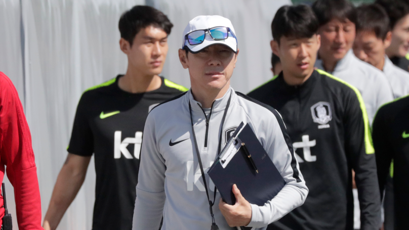 South Korean Players Have Been Switching Shirts To Confuse Sweden Team