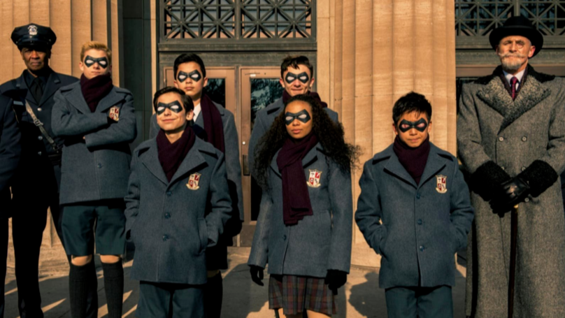 The Umbrella Academy Teases Picture Of Second Season Script