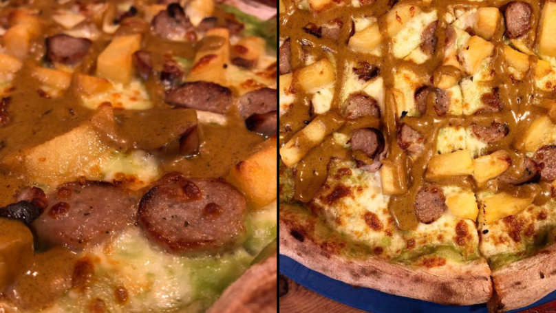 You Can Now Get A Chippy Tea Pizza