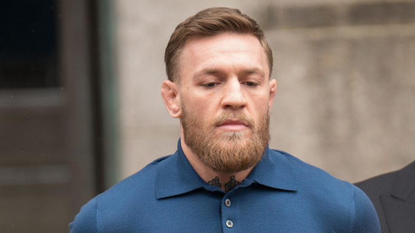 Conor McGregor Spared Jail After Pleading Guilty To Role In Bus Attack