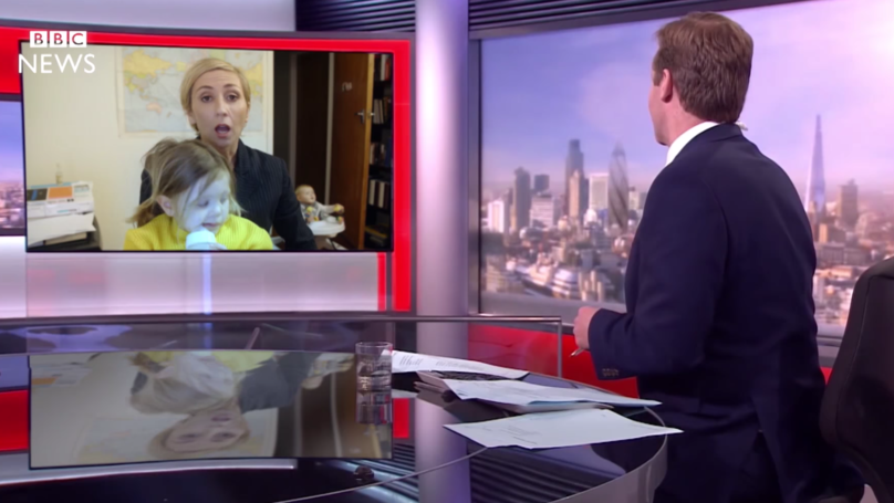 New Zealand Parody Of BBC Interview With Kids Is Hilarious