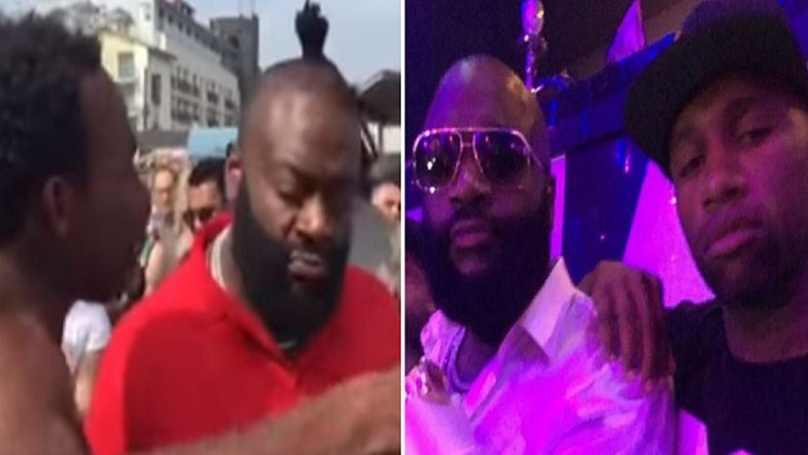 Rick Ross Signs Homeless Man To Label After Hearing Him Freestyle In The Street