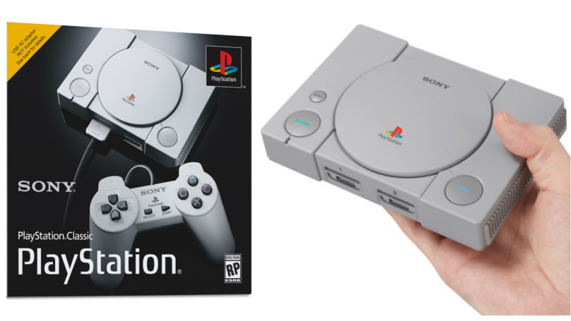 ​Sony Unveils The PlayStation Classic, A PS1 Mini Remake
