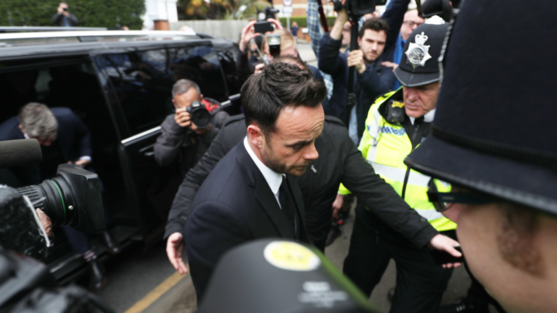 ​Ant McPartlin Pleads Guilty To Drink Driving