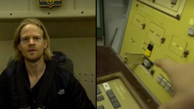 YouTuber Investigating Former Nuclear Bunker Finds Button To 'Destroy The World'