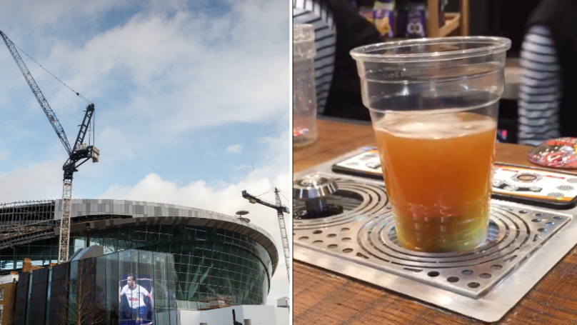 Fans Are Loving The 'Magic' Beer At Spurs New Stadium