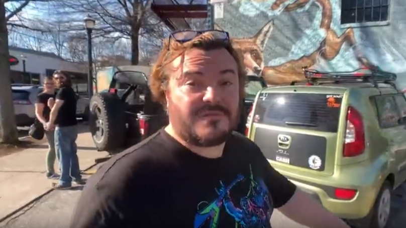 ​Jack Black Walks Past Couple, Accidentally Turns Them Into A 'Distracted Boyfriend' Meme