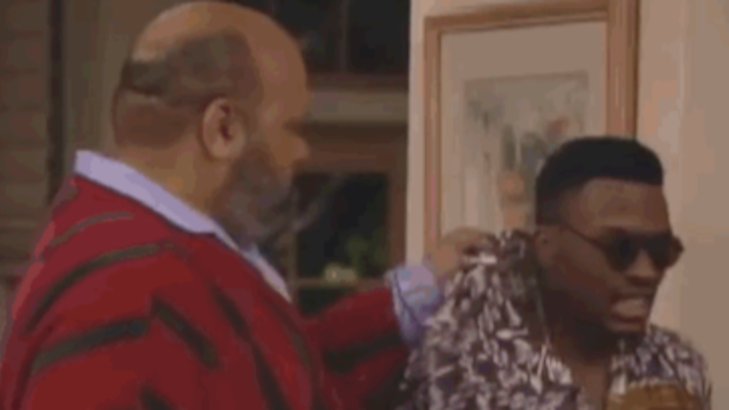 Someone's Made A Montage Of Every Time Jazz Gets Thrown Out On 'Fresh Prince'