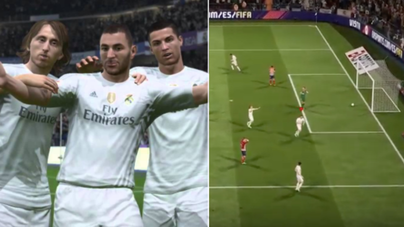 What Happens Seconds After You Score With Real Madrid On FIFA That You Probably Never Knew About