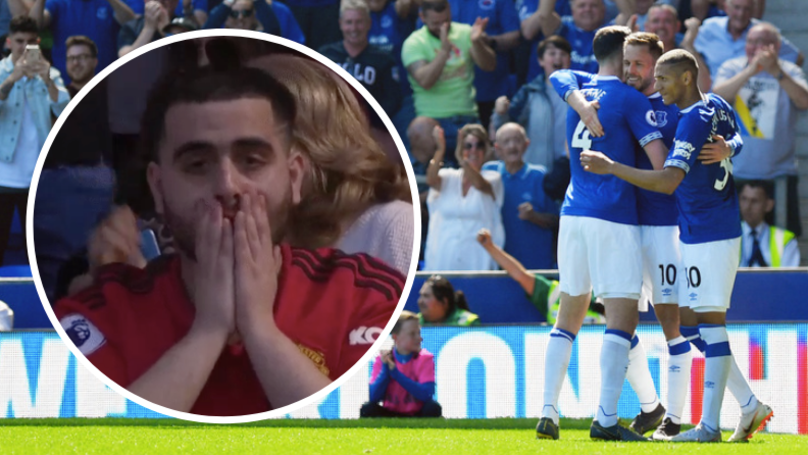 Manchester United Fans In Disbelief As They Get Thrashed 4-0 By Everton