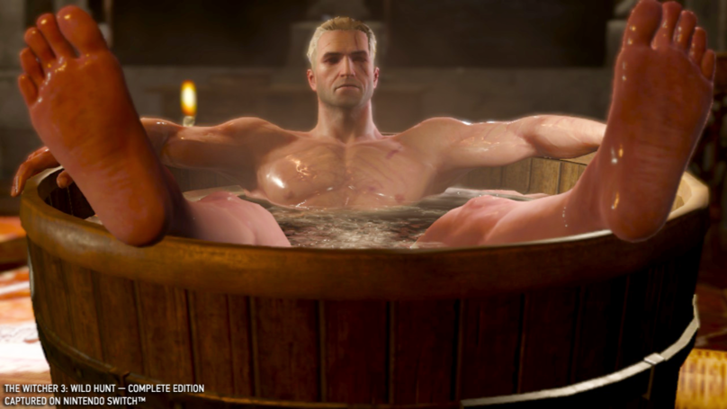 This Is How 'The Witcher 3: Wild Hunt' Works On Nintendo Switch