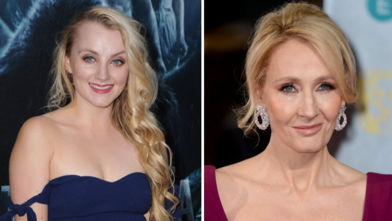 Evanna Lynch Says J.K. Rowling Helped Her Overcome Eating Disorder