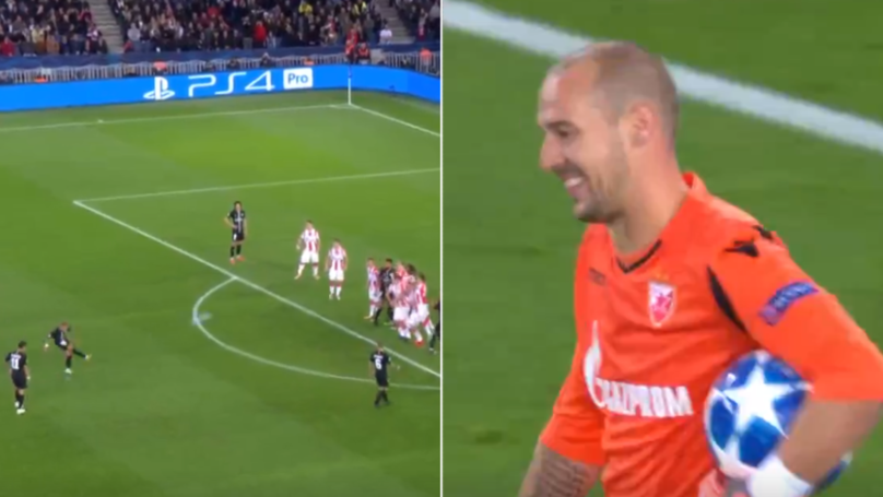 Neymar Bookends Champions League Hat-Trick With Brilliant Free Kicks