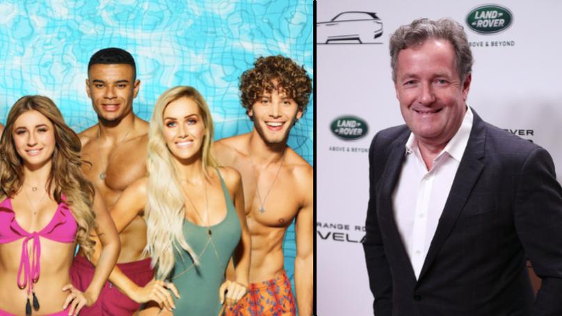 Piers Morgan Slams 'Love Island' Fans Following Sweary Tweet