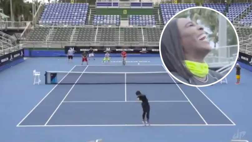 Serena Williams Simultaneously Tore Apart Five Men Who Tried To Win A Point Against Her