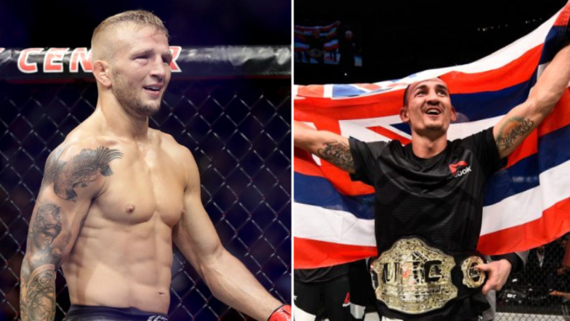 TJ Dillashaw Wants To Fight Max Holloway And Become A Three-Weight UFC Champion