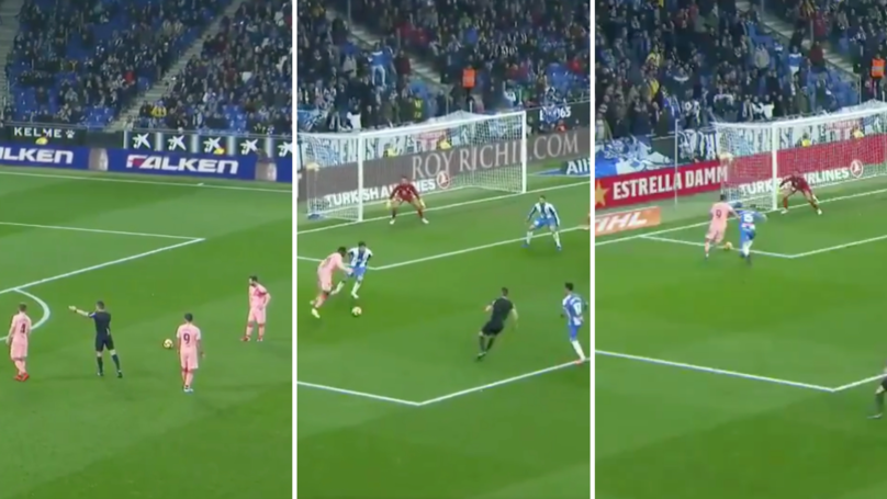Barcelona Score FOUR Ridiculous Goals Against Espanyol