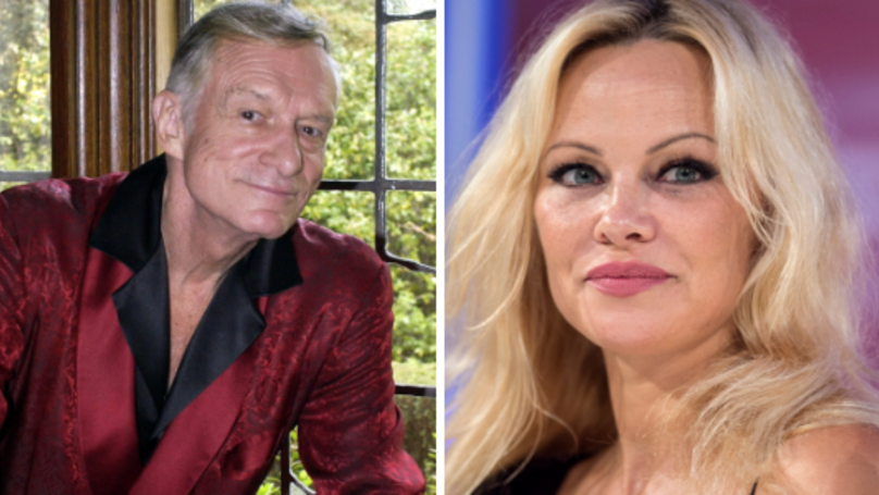 Pamela Anderson Sparks Concern Over 'Strange' Hugh Hefner Tribute