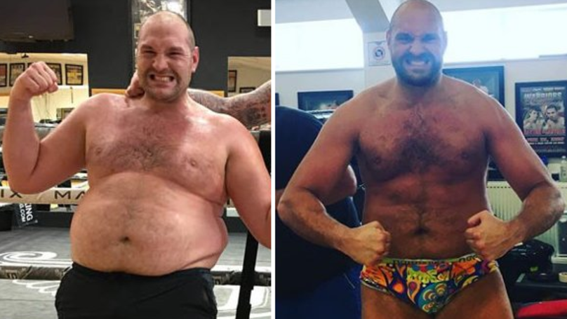Tyson Fury Shows Off Incredible Body Transformation In A Pair Of Funky Underpants