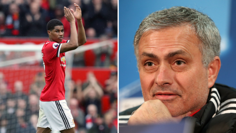 Surprising Stat Shows Everyone's Wrong About Jose Mourinho And Marcus Rashford