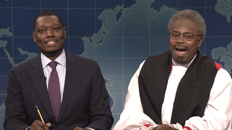 'Saturday Night Live' Pays Tribute To Bishop Michael Curry With Parody