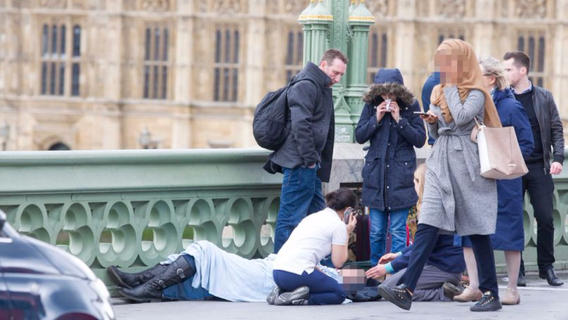 Image Of Woman In Hijab At Westminster Attack Was Circulated By Russian Troll