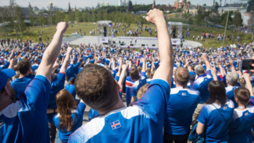 99.6% Of Iceland's Population Watched Their World Cup Game Vs. Argentina