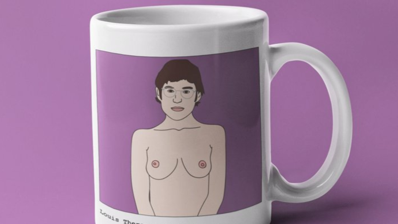 ​Louis Theroux Reacts To Bizarre Mug Of Him With Breasts