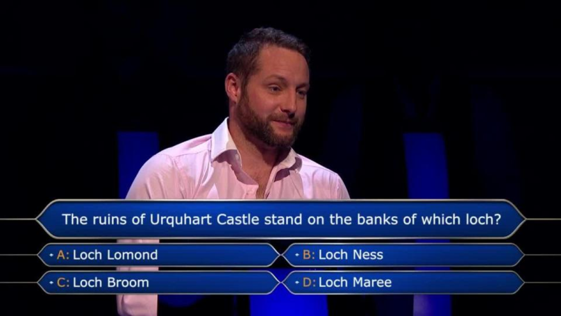 Who Wants To Be A Millionaire Contestant Gets £125k Question Right Because He Lot His Leg There