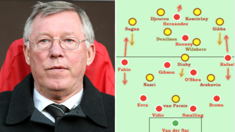 Only Sir Alex Could Beat Arsenal With 'The Worst Midfield In Premier League History'