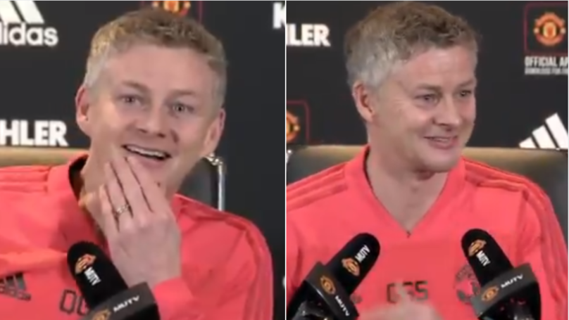 Man Utd Fans Will Love Every Second Of Ole Gunnar Solskjaer's First Press Conference